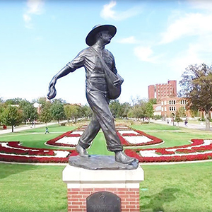 Sower Statue at the University of Oklahoma